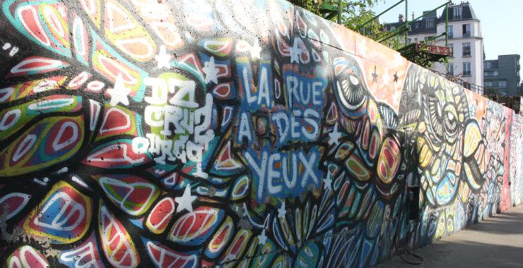 Street art à la carte |