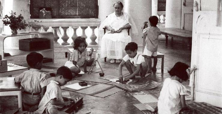Dans les pas de Maria Montessori... |