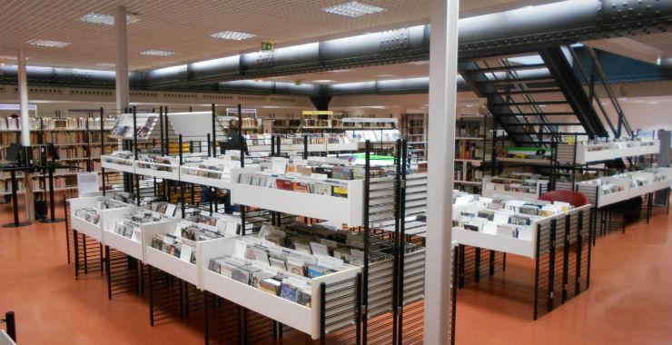 Découvrez l'espace musique de la bibliothèque Parmentier |