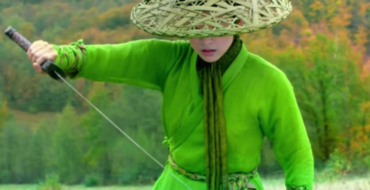 Le secret des poignards volants de Zhang Yimou