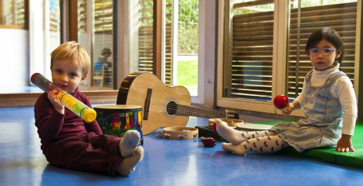 L'éveil musical : la musique pour les tout-petits |