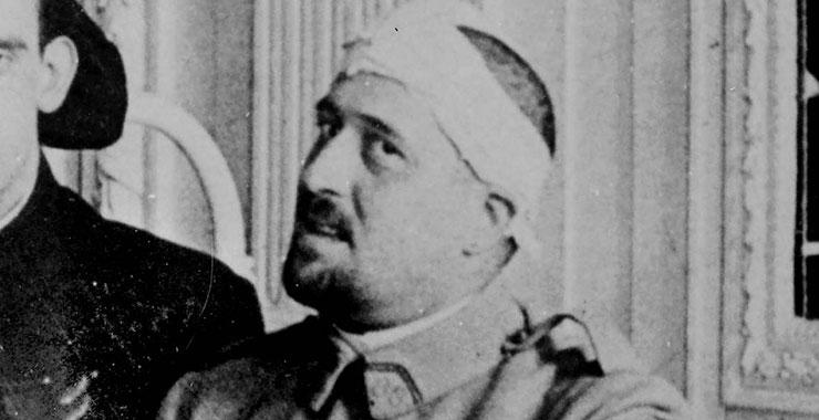 Guillaume Apollinaire à la bibliothèque historique |