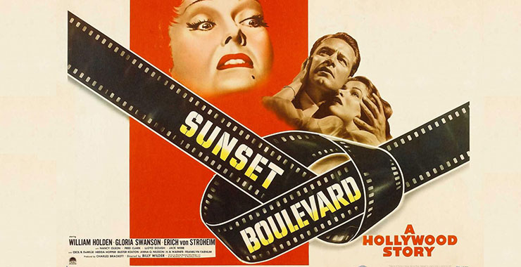 affiche du film « Sunset Boulevard » de Billy Wilder