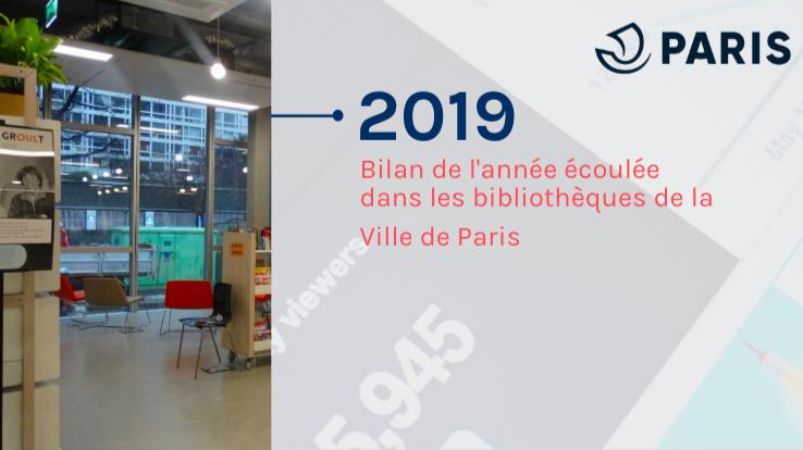 2019 : bilan de l'année écoulée |