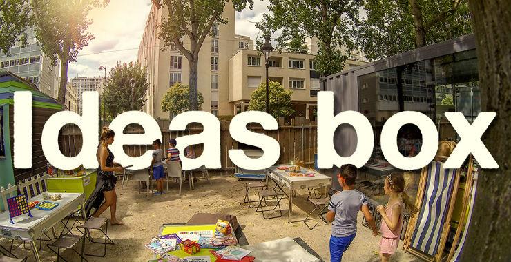 Ideas box : une bibliothèque en kit ! |