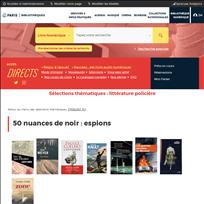 Sélections thématiques - littérature policière |
