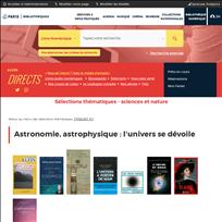 Sélections thématiques - sciences et nature |