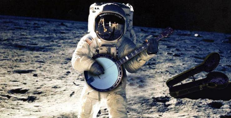 On a chanté sur la lune !  