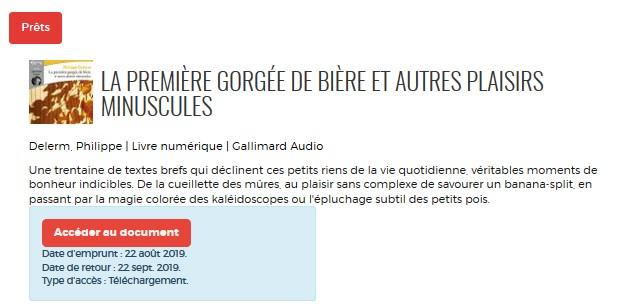 Bibliotheque Numerique Telecharger Un Livre Audio Numerique