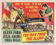 Le déserteur de Fort Alamo - film