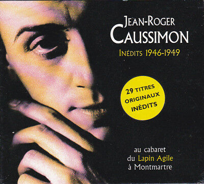 Inédits 1946-1949 : au cabaret du Lapin Agile à Montmartre | Jean-Roger Caussimon (1918-1985)