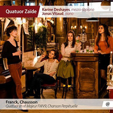 Quatuor en ré majeur FWV9 | César Franck (1822-1890). Compositeur