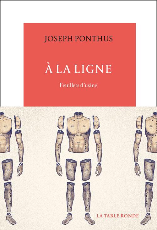 A la ligne de Joseph Ponthus lauréat du prix du premier roman des bibliothèques