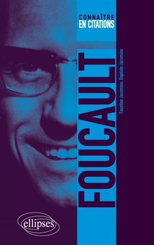 Foucault | Baptiste Jacomino. Auteur