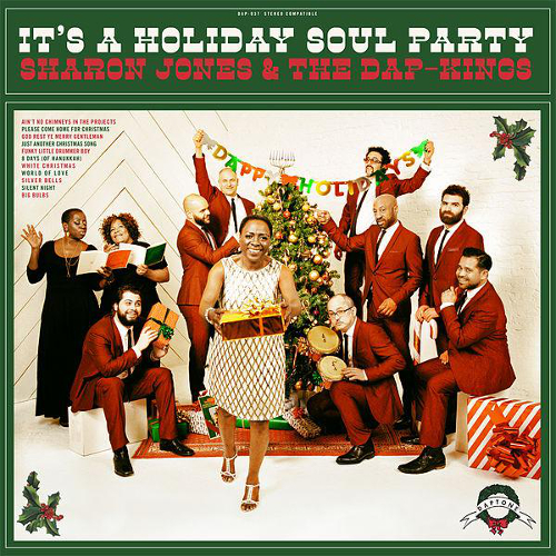 It's a holiday soul party | Sharon Jones. Chanteur